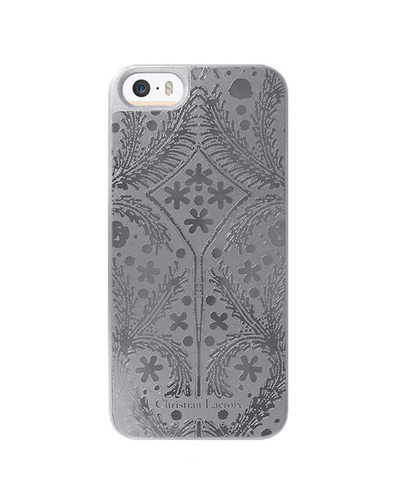 [Christian Lacroix] metal paseo silver caseiPhone SE/5S/5