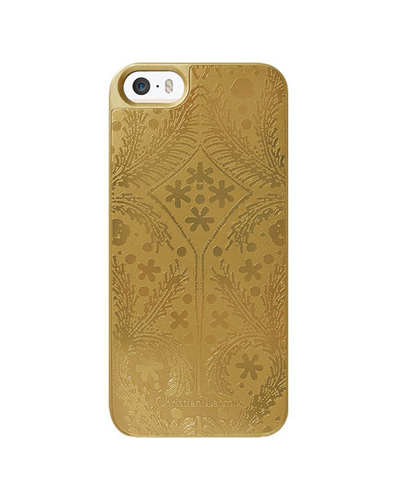 [Christian Lacroix] metal paseo gold caseiPhone SE/5S/5