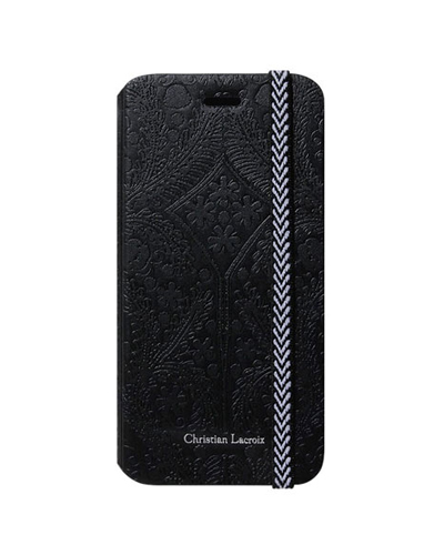[Christian Lacroix] paseo black folio caseGALAXY S6
