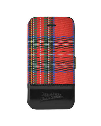 [Jean Paul] tartan red folio caseiPhone 6S/6