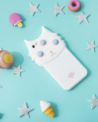 [VALFRE] blanco white cat caseiPhone 6S/6