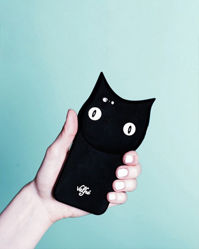 [VALFRE] bruno black cat caseiPhone 6S+/6+