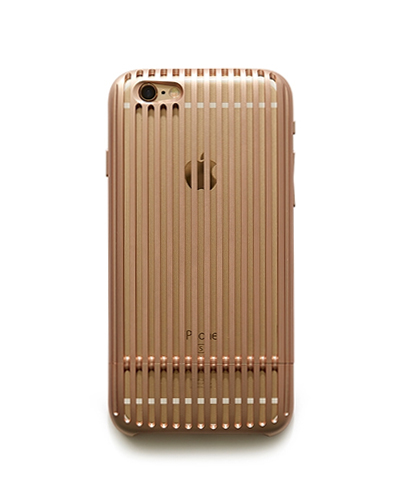 [SQUAIR] the slit rose gold caseiPhone 7/6S/6