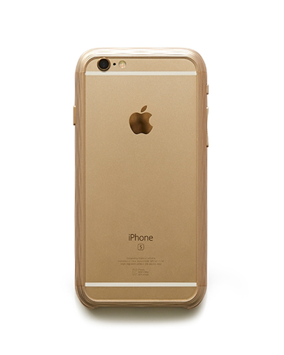 [SQUAIR] the dimple gold caseiPhone 7/6S/6