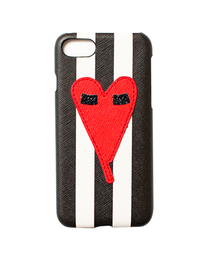 [IPHORIA] amour fou heart patch caseiPhone 8/7