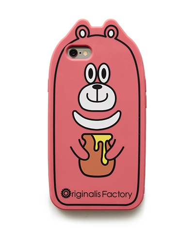 [O.FACTORY] pink bear caseiPhone 6S/6