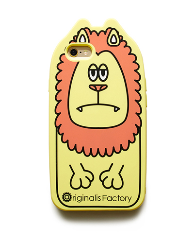 [O.FACTORY] yellow lion caseiPhone 6S/6