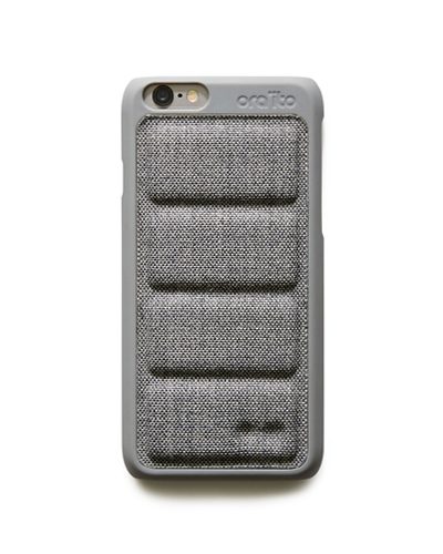 [ORAITO] padding back cover gray caseiPhone 6S/6
