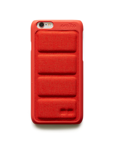 [ORAITO] padding back cover red caseiPhone 6S/6