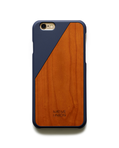 [N.UNION] clic wooden marine caseiPhone 6S/6
