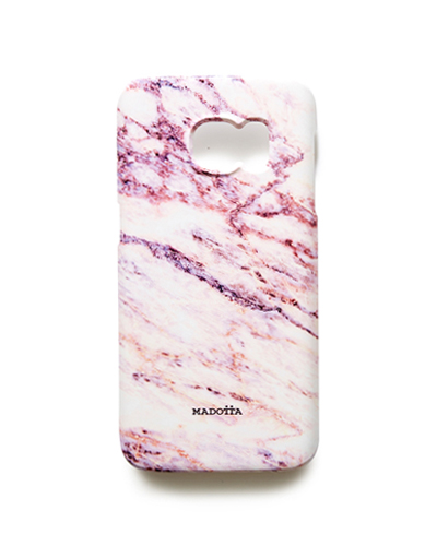 [MADOTTA] pink galaxy marble caseGALAXY S7