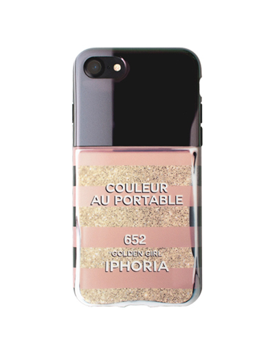 [IPHORIA] nail polish golden girl caseiPhone 8/7