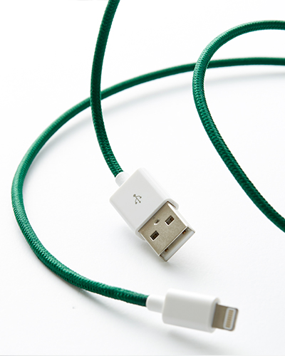 [LE CORD] USB charge solid spruce cable&nbsp