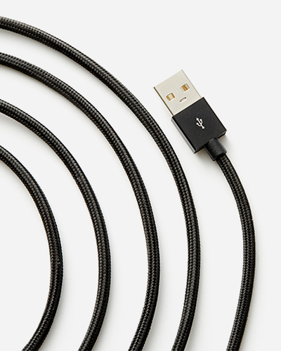 [LE CORD] USB charge black cable2M