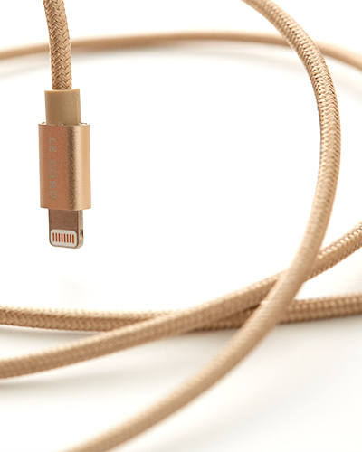 [LE CORD] USB charge solid gold cable2M