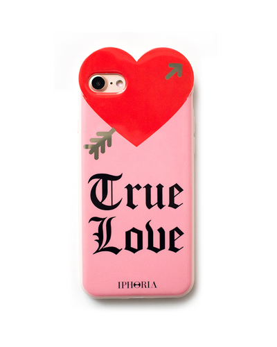 [IPHORIA] heart true love pink case iPhone 8/7