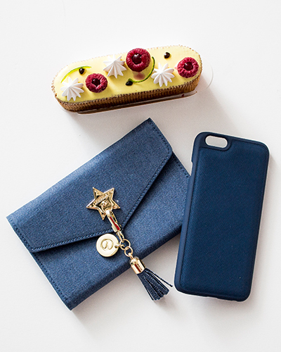 [IPHORIA] jeans star shoulder bag caseiPhone 6S/6