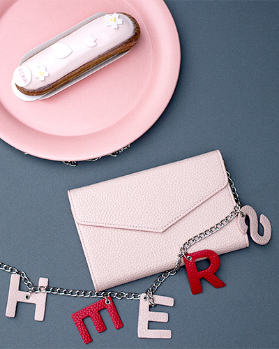 [IPHORIA] pink cheers shoulder bag caseiPhone 6S/6