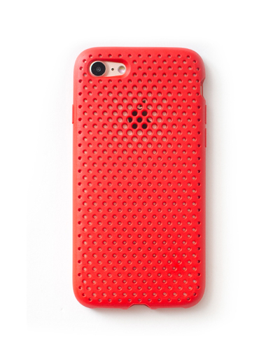 [ANDMASH] red mesh caseiPhone 7+