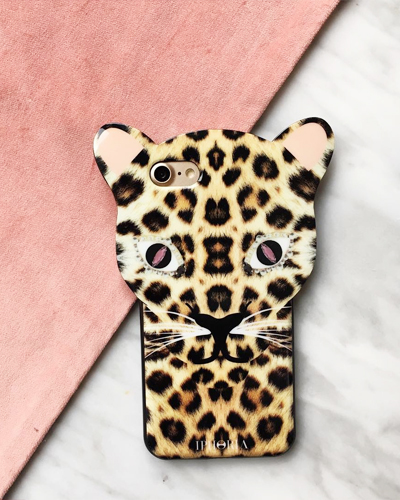 [IPHORIA] brown leo case iPhone 8/7
