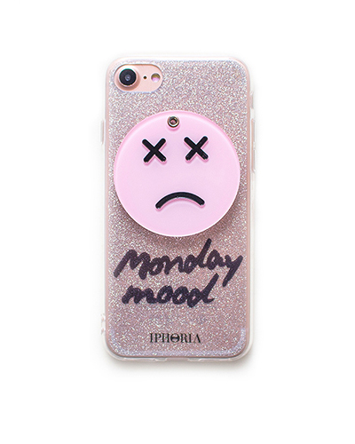 [IPHORIA] sad smiley mirror caseiPhone 7