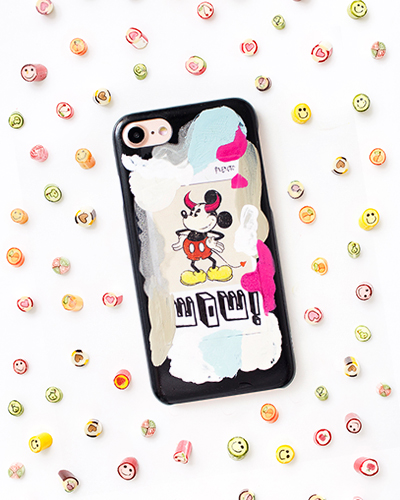 [2ME STYLE] mickey mouse wow case iPhone 7