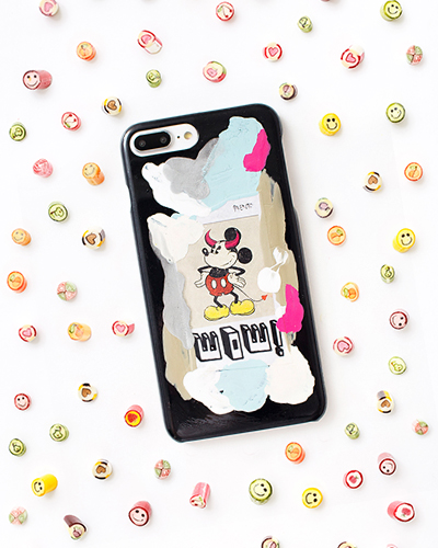 [2ME STYLE] mickey mouse wow caseiPhone 8+/7+