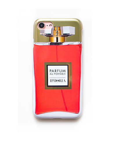 [IPHORIA] perfume red flacon caseiPhone 8/7