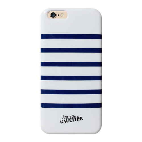 Jean Paul Gaultier iPhone 6S/6 striped navy back-cover case